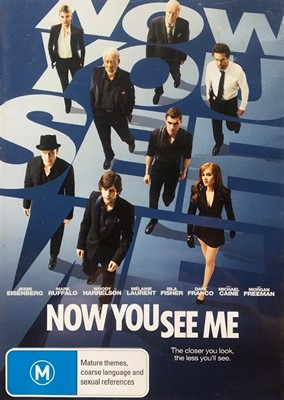 Now You See Me (DVD 2012)